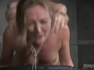 Young girls having sex in the shower