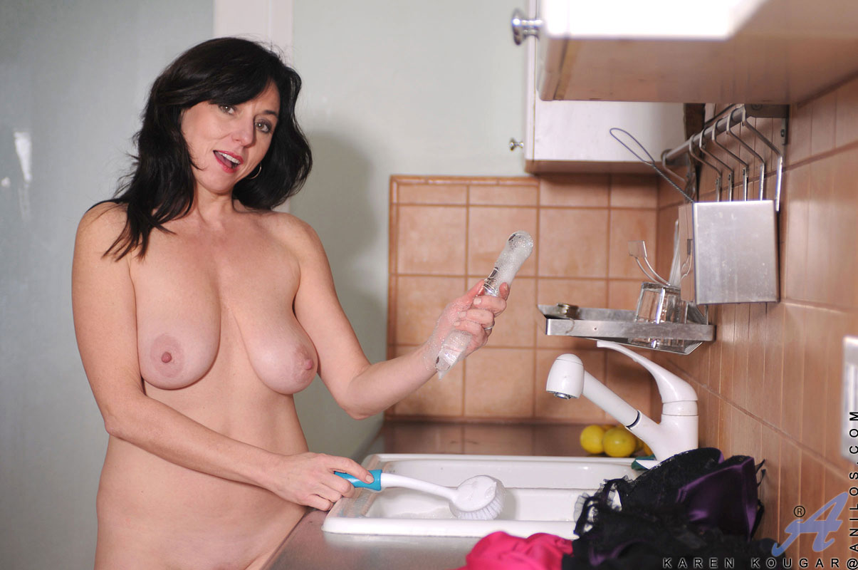 Naked asian girl gets fucked